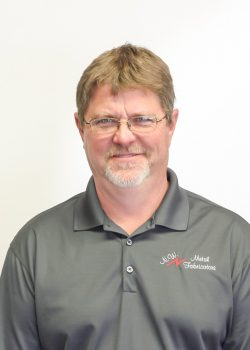 Bob Cooley, Shop Foreman, background – 30+ years of welding, metal fabrication and installation in agricultural and food industry. 15 years with NWMF. bcooley@nwmetalfab.com